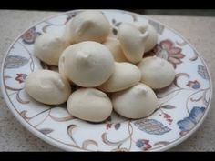 Merengues sin claras - veganos - aquafaba ~ Pasteles de colores