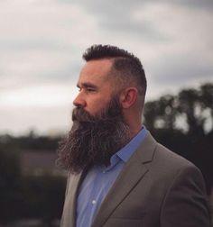The Beard & The Beautiful I Love Beards, Grey Beards, Long Beards, Beard Love, Awesome Beards, Moustache, Walrus Mustache, Beard No Mustache, Scruffy Men