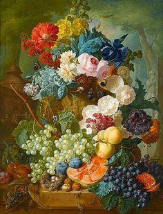 Jan van Os (Middelharnis 1744-1808 The Hague) Rose - by Bonhams