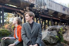 Henry Hopper, Mia Wasikowska in Restless