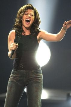 Kelly Clarkson - American Idol - voted for her from the beginning, amazing voice, great in different genres