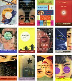 Haruki Murakami's Book Covers