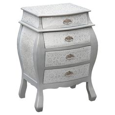 Bring together a theme of beauty and style in a room of your home with this stunning Chest of Drawers. French Furniture, Shabby Chic Furniture, Bedroom Furniture, Furniture Design, Luxury Decor, Luxury Interior, Shabby Chic Chest Of Drawers, Better Homes And Gardens, Interior Inspiration