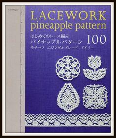 Japanese PDF Crochet Lace. $2,00, via Etsy.