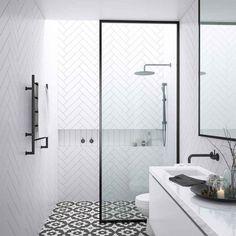 48 Easy Shower Design Ideas For Small Bathroom - Design Attic Shower, Small Shower Room, Shower Floor, Wet Room Shower, Ensuite Bathrooms, Bathroom Renovations, Master Bathroom, Bathroom Fixtures, Bathroom Mirrors