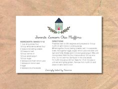A personal favorite from my Etsy shop https://www.etsy.com/listing/587151473/printable-editable-recipe-cards-instant
