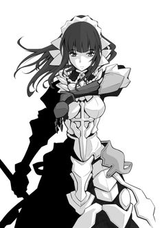 Narberal Gamma,Overlord (Anime),Anime,аниме