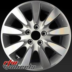 Honda Accord Wheels For 2006 2007 17 Machined Silver Rims 63919