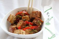 Orange Sesame Tofu by Vegan Feast Catering, via Flickr