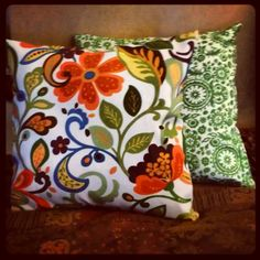 Outdoor cushion recover project!