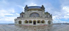 fotografii panoramice, cazino, panoramic photography casino constanta romania, Panoramic Photography, Notre Dame, Barcelona Cathedral, Romania, Building, Travel, Fotografia, Mosque, Viajes