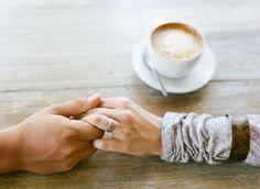 Coffee Shop Engagement Session Ideas | http://mattmartinphotography.com/