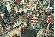Bronner's Christmas Wonderland in Frankenmuth, Michigan opened in 1954.