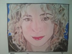 This is a drawing of River Song that I, @HannahJackfield did!