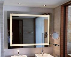Modern Fog Free Bluetooth Bathroom LED Backlight Mirror Factory & Suppliers China - Customized - Hongsheng Furniture