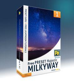 Free Lightroom Preset: Majestic Milkyway