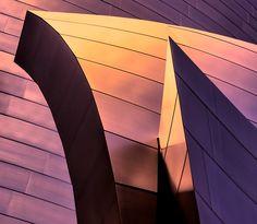 Walt Disney Music Hall, LA, Frank Gehry, pic by Chuck Kuhn