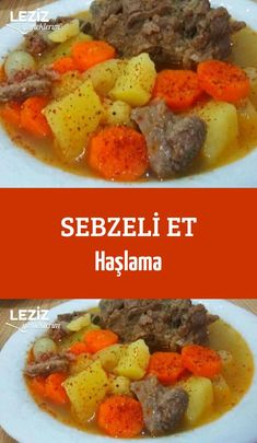 Sebzeli Et Haşlama – Leziz Yemeklerim Tavuk tarifleri – The Most Practical and Easy Recipes Pot Roast, Lamb, Food And Drink, Beef, Meals, Chicken, Cooking, Ethnic Recipes, Kitchen