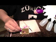 Easy Gel Polish Marbled French Manicure | See more at http://www.nailsss.com/colorful-nail-designs/2/