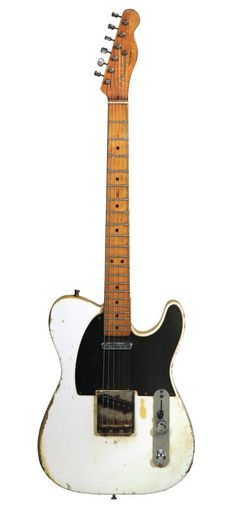 Rick Nielsen's '52 Tele. Only one neck. Shocker.....