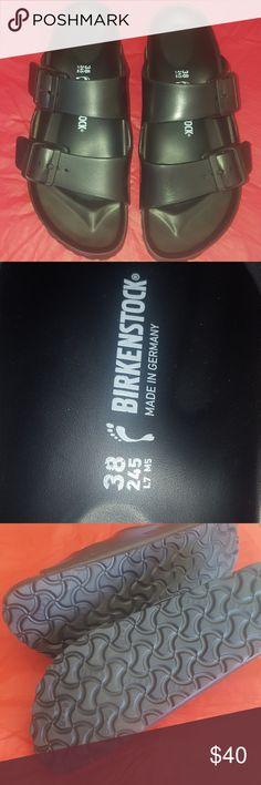Birkenstock sandals new condition Just too big for me. Birkenstock Shoes