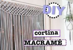 DIY Macramé Wall Hanging Easy Tutorial by Macrame School Macrame Art, Macrame Knots, Macrame Curtain, Rope Crafts, Macrame Tutorial, Crochet Dolls, Doll Patterns, Tapestry, Youtube