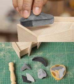 Sandables - moldable sanders