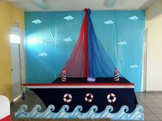 Home Design Ideas Sailor Birthday, Sailor Party, Baby Shower Themes, Baby Boy Shower, Baby Showers Marinero, Sailor Baby Showers, Nautical Party, Nautical Mickey, Baby Shawer