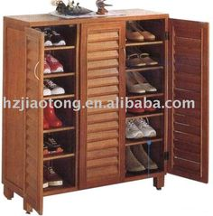definitely creating a Japanese style shoe cabinet near the back door....