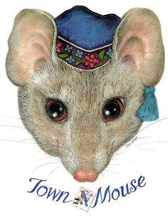 Mr. Town Mouse by Jan Brett