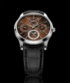 Only Watch Jaeger-LeCoultre Master Ultra Thin Perpetual Enamel Chestnut Edition Fine Watches, Cool Watches, Chestnut Brown Color, Duchenne Muscular Dystrophy, Jaeger Lecoultre Watches, Watch Brands, Enamel, Unique, Clothing Styles