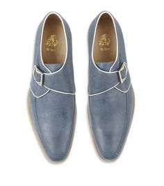 MR. HARE Thelonius Leather Monk Shoe  £425.00