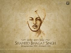 Bhagat Singh was a Indian revolutionary. He was born in a Sikh family in Lyallpur district of Punjab now in Pakistan and raised in Nawanshahr, Punjab now in India where his family had moved. Some of his family members had participated in the Indian independence movement.