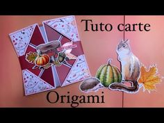 Tuto [débutant] carte origami façon diamant 💎 - YouTube Origami, Card Making Tutorials, Activities, Paper, Pop Up, Dyi, Books, Tube, Cards