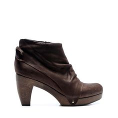Ndakinna Clog Ankle Bootie Brown, $326.75, now featured on Fab.