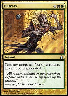 Putrefy ($.46) Price History from major stores - Ravnica - MTGPrice.com Values for Ebay, Amazon and hobby stores!