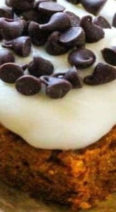 Chocolate Chip Bars, Pumpkin Chocolate Chips, Pumpkin Bars, Pumpkin Spice, Pumpkin Recipes, Fall Recipes, Cream Cheese Frosting, Pudding, Autumn