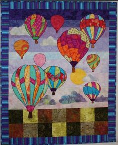 Quilt Spark Evening Flight Quilt Pattern