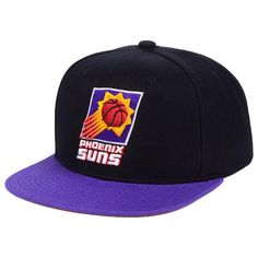new product e0dc4 ad6d0 Phoenix Suns Mitchell   Ness 2-Tone Classic Adjustable Snapback Hat -  Black, Your