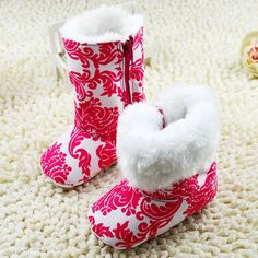 Cheap shoes esd, Buy Quality shoes athletic directly from China shoe sacks Suppliers: Warm Winter Baby Girls Ankle Snow Boots Infant Shoes Red Antiskid Baby Shoes First Walkers&