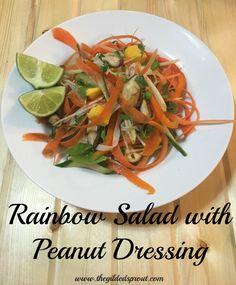 ... noodles peanuts vegan recipes vegetarian forward rainbow noodle salad