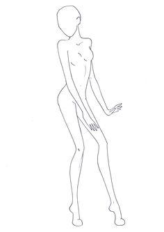 Figure Template 15 outline