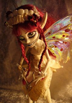 OOAK custom Monster High Tooth Fairy - Dentina | Flickr - Photo Sharing!
