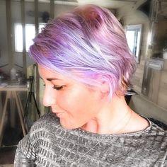 Rose (@rosetautari) • Instagram photos and videos Pastel Pixie, Cut Life, Love Your Life, Pixie Cut, Lavender, Photo And Video, Rose, Videos, Photos