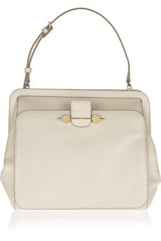 Jason Wuleather shoulder bag is simplicity itself - and that makes it stand out.