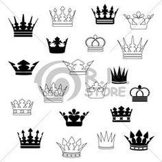 small crown pics tattoos - Google Search