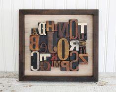 I love letterpress