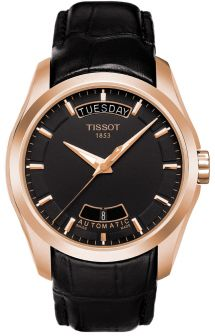 T035.407.36.051.00, T0354073605100, Tissot couturier automatic watch, mens