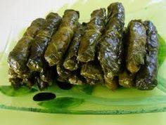 Grape Leaves Recipe, Stuffed Grape Leaves, Salsa, Food And Drink, Canning, Ethnic Recipes, Health, Olive Oil, Kitchens