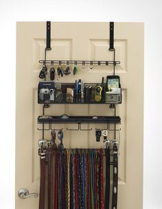 Wall Jewelry Display Jewelry Organizer Shelf Necklace by CedarRoad